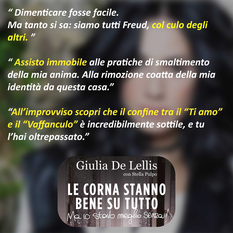 Dal Libro Di Giulia De Lellis Le Corna Stanno Bene Su Tutto